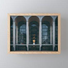 Lincoln Center Framed Mini Art Print