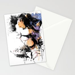 Shibari - Japanese BDSM Art Painting #7 Stationery Cards