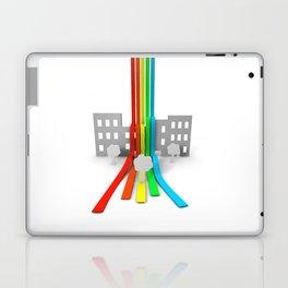 Spectrum in Town Laptop & iPad Skin