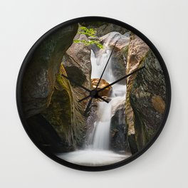 Texas Falls Wall Clock