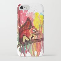 squirrel iPhone & iPod Cases featuring Squirrel by Halfmoon Industries