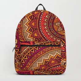 Hippie mandala 33 Backpack