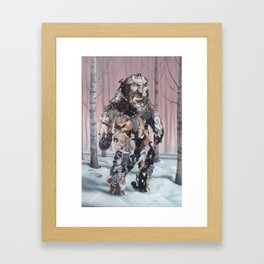 Catsquatch (super high res) Framed Art Print