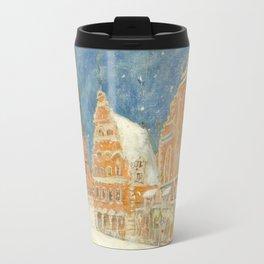 Merry Christmas Rīga Travel Mug