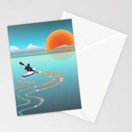 Exploring Crystal Cove Stationery Cards