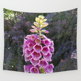Gloves in summer!  Foxglove, Digitalis purpurea Wall Tapestry