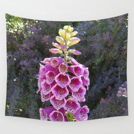 Gloves in summer!  Foxglove, Digitalis purpurea Wall Tapestry