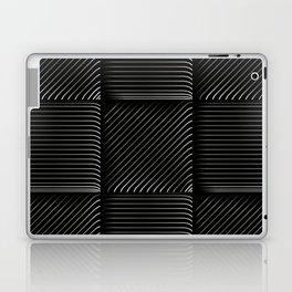 Diagonal Stripes Background 15 Laptop & iPad Skin