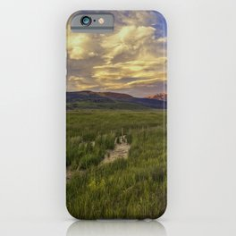 Home On The Range iPhone Case