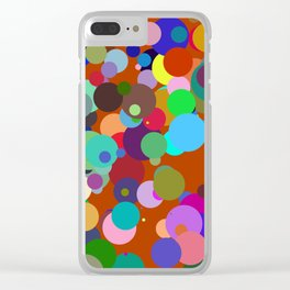 Circles #4 - 03092017 Clear iPhone Case