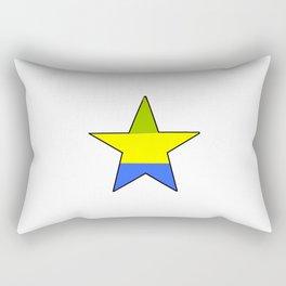 flag of gabon 2 -gabon,gabonais,gabonaise,Gabonese,gabones,libreville. Rectangular Pillow
