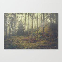 They whisper things Canvas Print