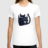 hot T-shirts featuring World Domination For Cats by Tobe Fonseca