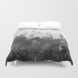 Forest Melody - Redwood National Park Duvet Cover