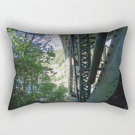 Two Worlds of Deception Pass Rectangular Pillow