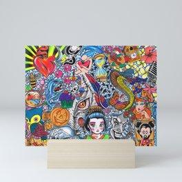 129 Inspirations Mini Art Print