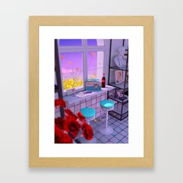 Radio Love Framed Art Print