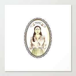 Tita from Like Water for Chocolate Canvas Print