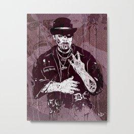 Late Dogg Metal Print
