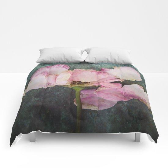 Wilted Rose II Comforters