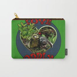Love Oddly Carry-All Pouch