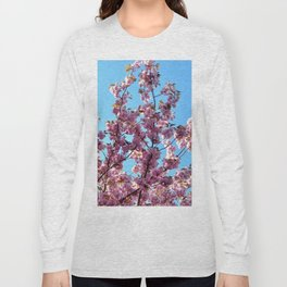 spring pink  blossoms Long Sleeve T-shirt