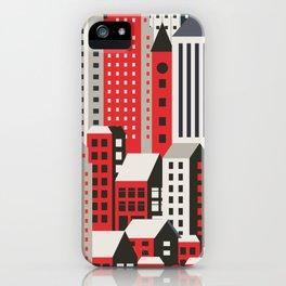 Urban city iPhone Case