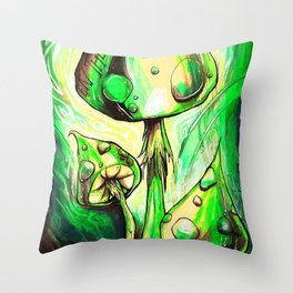 Entheogenic Throw Pillow
