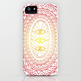 Three Eyes iPhone Case