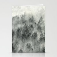 woods Stationery Cards featuring Everyday by Tordis Kayma