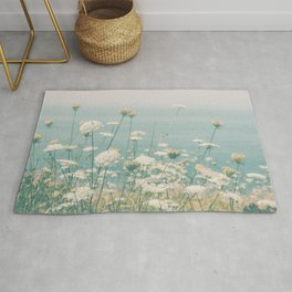 Laughter Danced Through the Flowers Rug