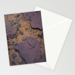 Rust on Rust rustic decor Stationery Cards