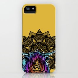 Highland Cow- Catalyst Ranch iPhone Case