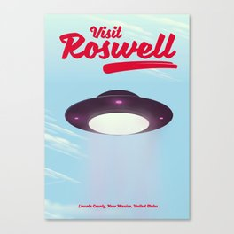 Roswell UFO Canvas Print