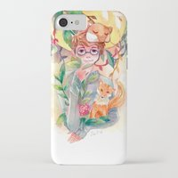 gem iPhone & iPod Cases featuring Gem by Ozora