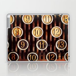 Vintage Numbers Laptop & iPad Skin