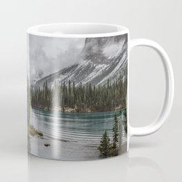 Landscape Maligne Lake Photography | Alberta | Canada Coffee Mug