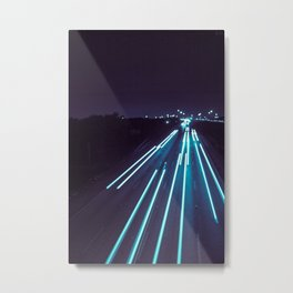 75(glow) Metal Print