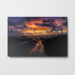 Sauble Beach Art Decor. Metal Print