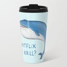 Netflix & Krill Travel Mug