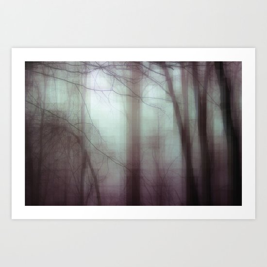 Through The Thicket Art Print