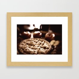 Old Fashioned Apple Pie Framed Art Print