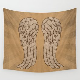 Daryl Wings Wall Tapestry