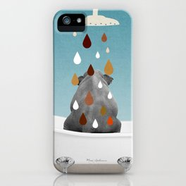 SHOWER CURTAIN iPhone Case
