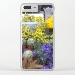 Springy Clear iPhone Case