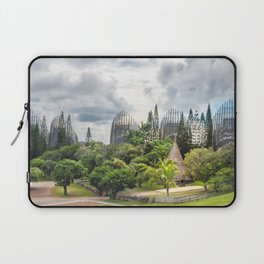 Tjibaou Cultural Centre Panorama in Noumea, New Caledonia. Laptop Sleeve