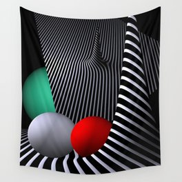 opart -62- shelter Wall Tapestry