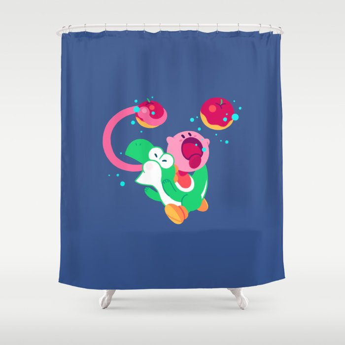 Lunch Date Shower Curtain