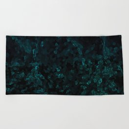 Stone Turquoise pattern Beach Towel