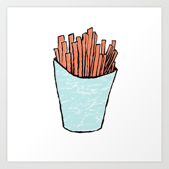 fries Art Print